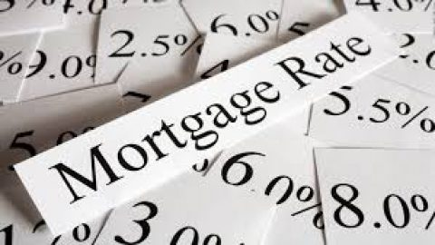 Mortgage rate paper with various rates underneath